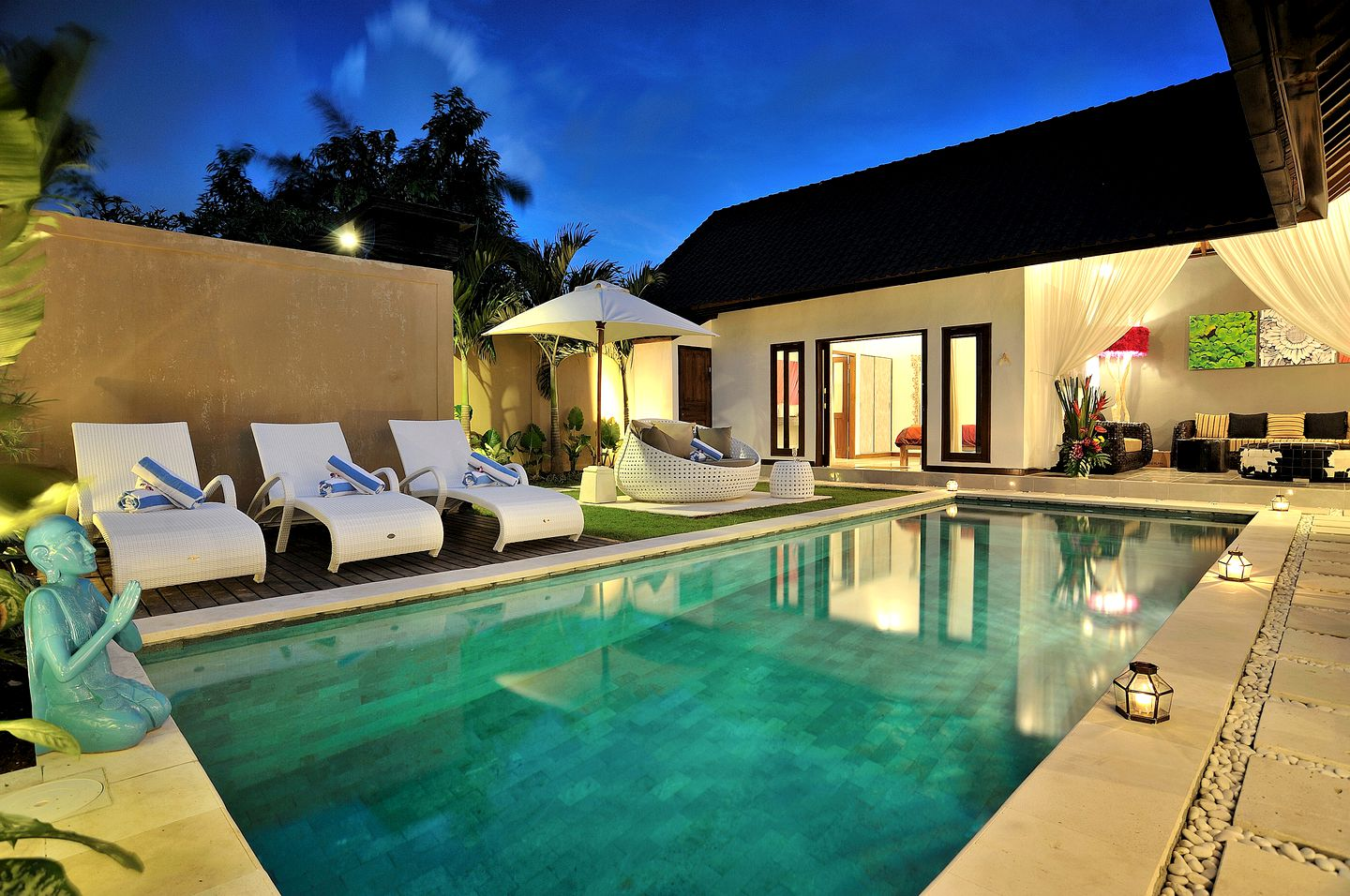 This Bali villa is ideal for holidays in Indonesia