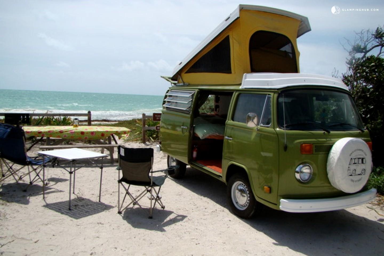 Vintage Campervans In Florida Luxury Camping In Florida
