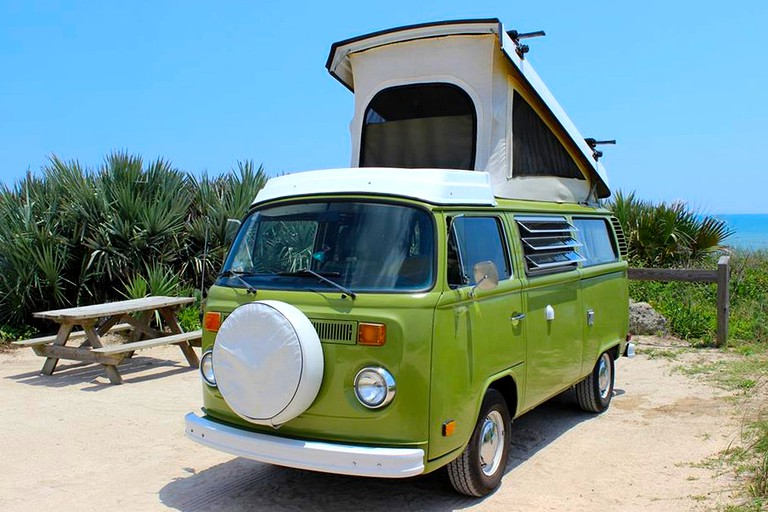 Gorgeous Vintage Campervan Rentals on the Central-West Coast of Florida