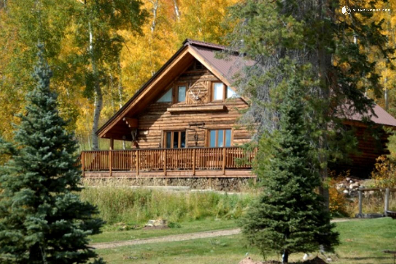 Cabin Near Howelsen Hill Ski Area In Colorado