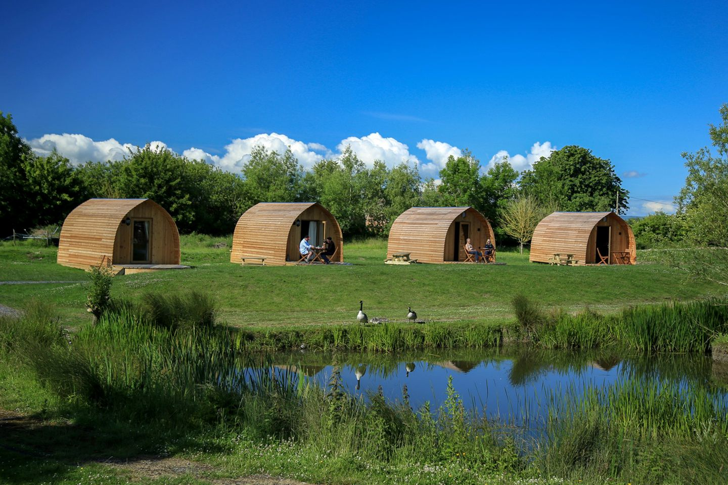 Pods (East Huntspill, England, United Kingdom)