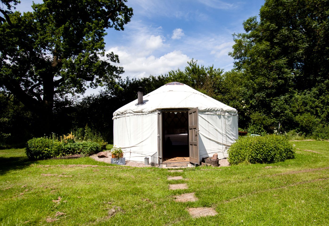 Yurts (Bronington, Wales, United Kingdom)