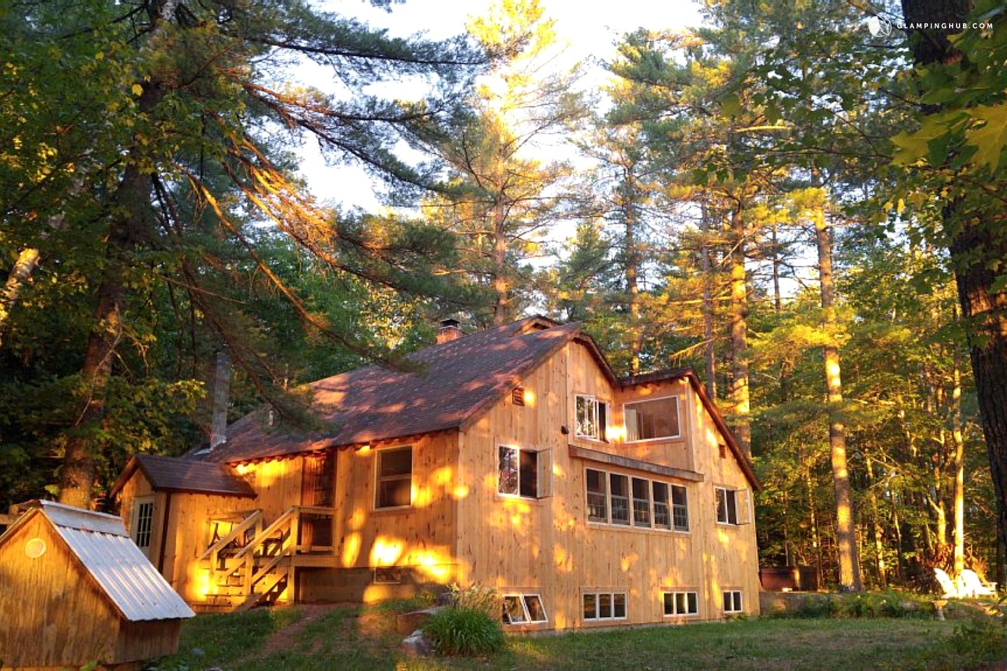 Camping Cabin near Sunday River Maine