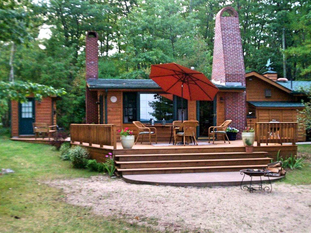 Waterfront Cottage on Lake Huron, Michigan
