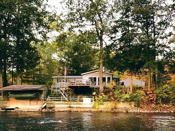 Waterfront Vacation Rental on Muskegon River in Huron-Manistee National  Forests, Michigan