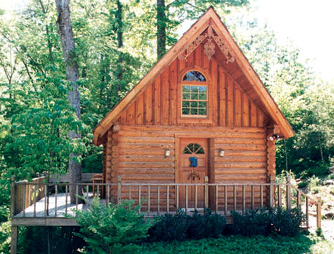 Secluded Log Cabin Rental At The Foot Of The Great Smoky Mountains In Tennessee