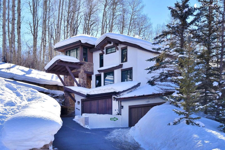 Cabin near vail ski resort colorado for Ski cabins in colorado
