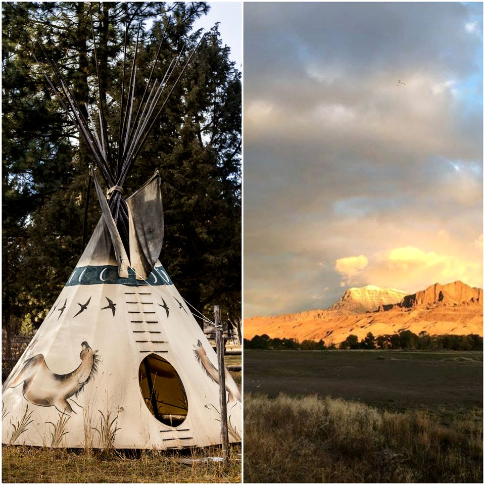 Tipis (Wapiti, Wyoming, United States)