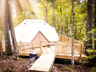 Glamping In Tennessee Luxury Tennesee Camping Tn Cabin