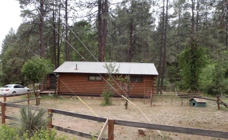 cabin rental near whispering pines arizona