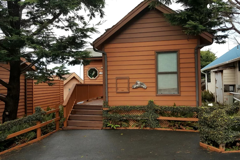 Glamping hub for White rock mountain cabins