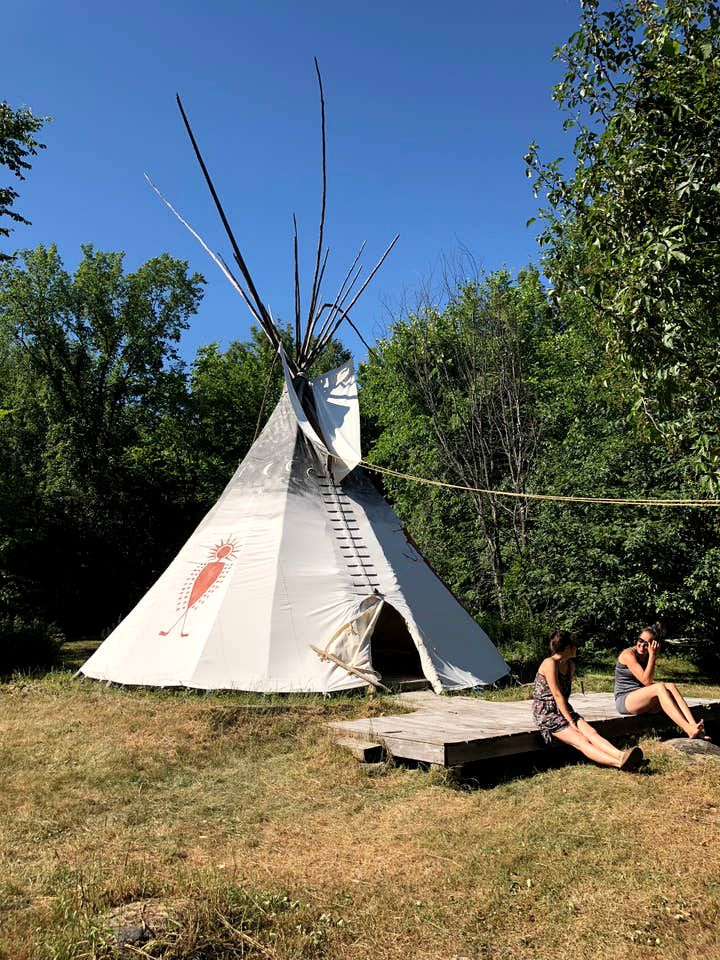 Tipis (Foresters Falls, Ontario, Canada)