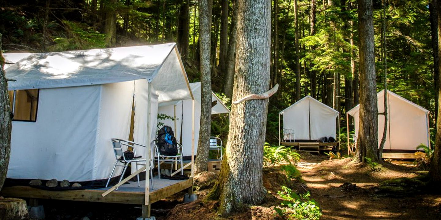 Safari Tents (Quathiaski Cove, British Columbia, Canada)