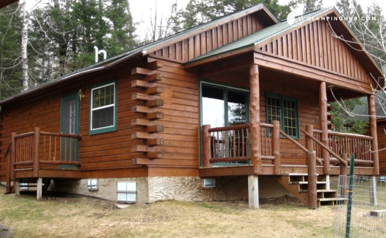 michigan rustic camping rentals cabin in cabins campgrounds