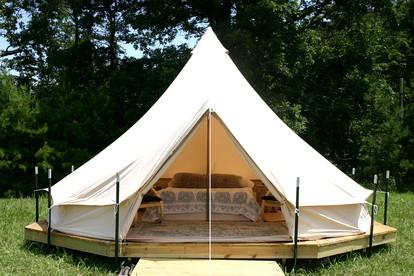 Luxury Tent and Tipi Camping near Cherokee, North Carolina| Glamping