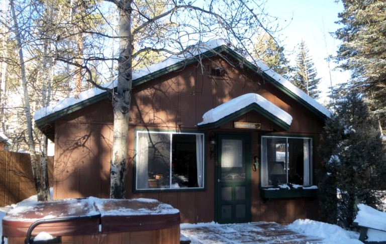 Enjoyable Family Cabin Rental With Hot Tub Near The Rocky Mountain National Park Colorado Home Interior And Landscaping Ferensignezvosmurscom