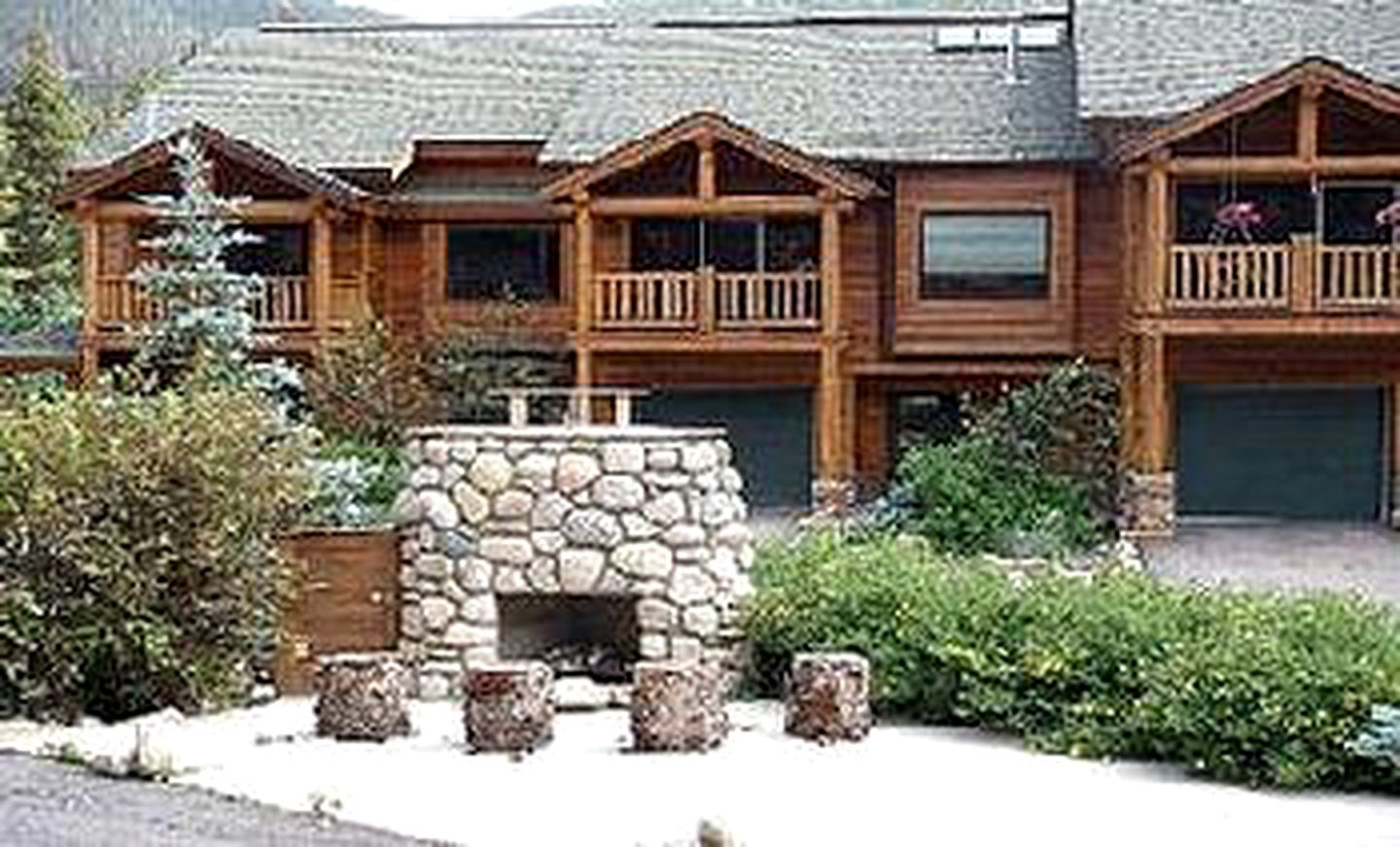 Cabañas de madera (Winter Park  , Colorado, Estados Unidos)