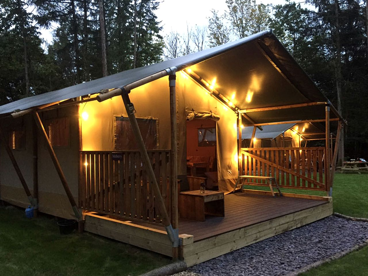 Safari Tents (Balcombe, England, United Kingdom)