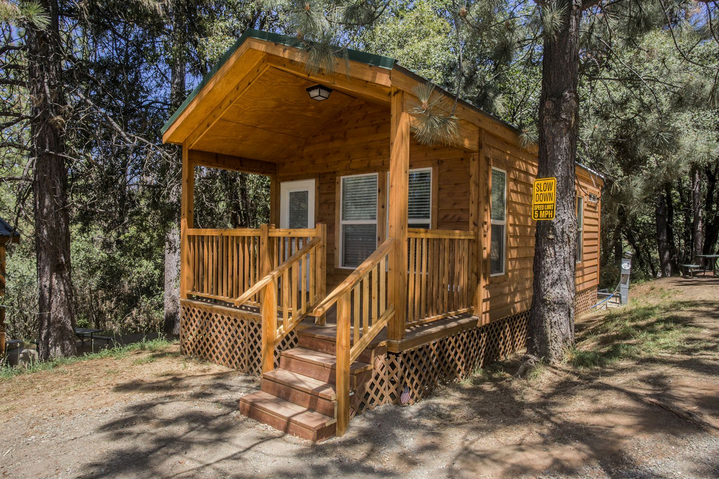 Cabin Rentals in luxury campsite near Yosemite National Park (Groveland, California, United States)