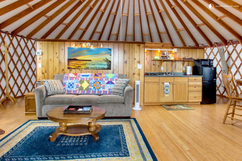 Yurt Rental In Tillamook Oregon