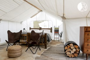 Photo of Zion National Park - Under Canvas - Suite with Adjacent Tipi