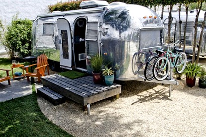 Airstream Camping near L.A.