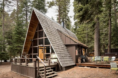 Cabins with Fireplaces near Lake Tahoe