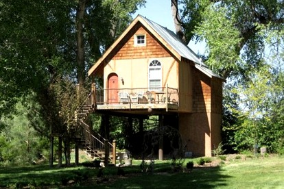 Five-Star Tree Houses in New Mexico