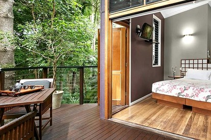 Glamping near the Gold Coast