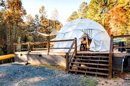 Glamping Sites near the Appalachian Trail