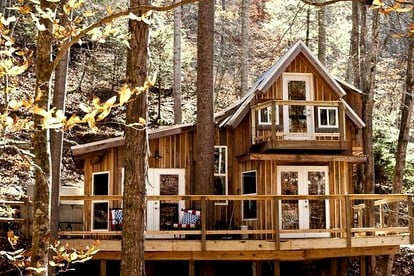 High-End Tree Houses in the US