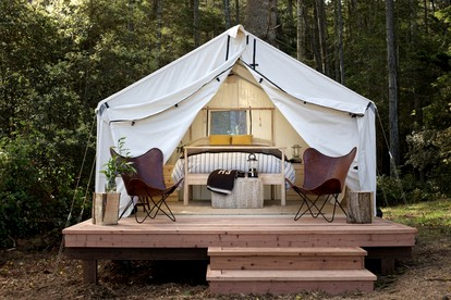 Luxury Camping Accommodations in Sonoma