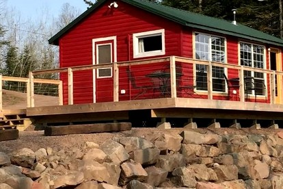 Luxury Camping Cabins near Lake Superior