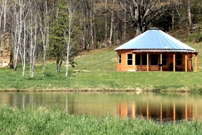 Luxury Camping Cabins near Blue Ridge Parkway