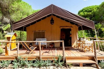 Luxury Camping in Southern Spain