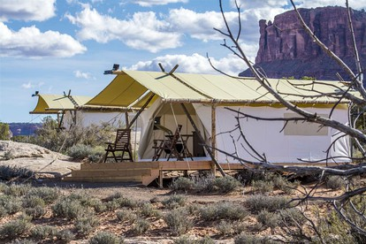 Luxury Tent and Tipi Camping near Bear Lake