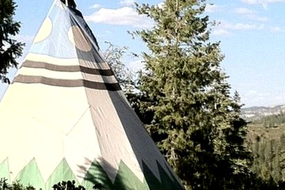 Luxury Tent and Tipi Camping near Bryce Canyon National Park