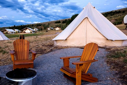 Luxury Tent and Tipi Camping near Salt Lake City
