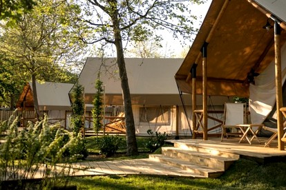 Luxury Tents in Slovenia Wine Country
