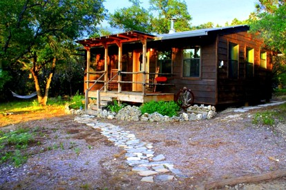 Pet-Friendly Cabins in Texas Hill Country