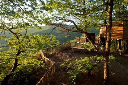 Stay in a Tree House in France