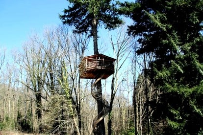 Tree House Rentals in Northern Spain