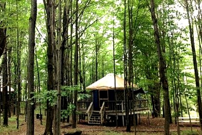 Yurt and Luxury Tent Camping in the Adirondacks