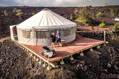 Yurt Rentals in Hawaii