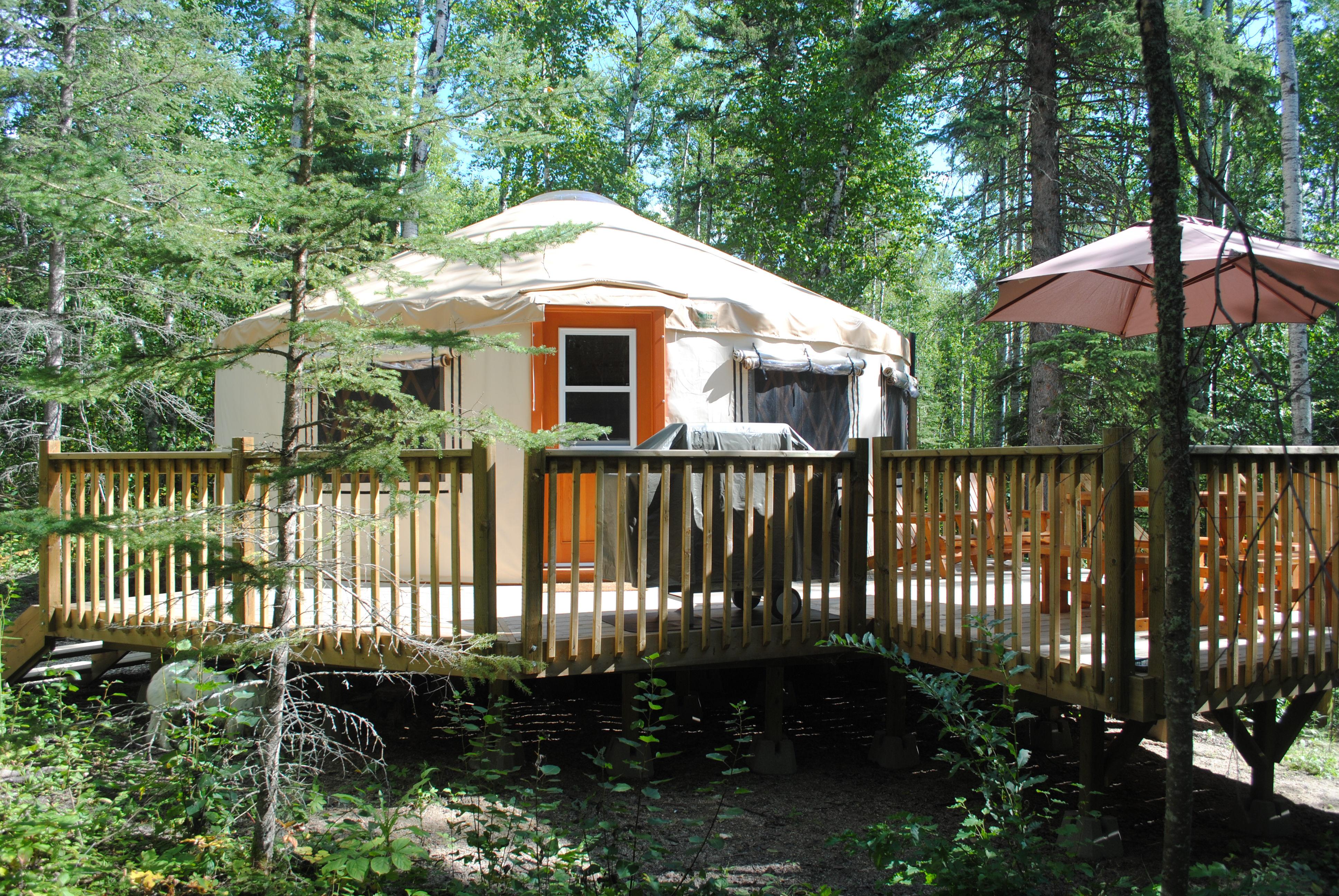 yurt rentals saskatchewan