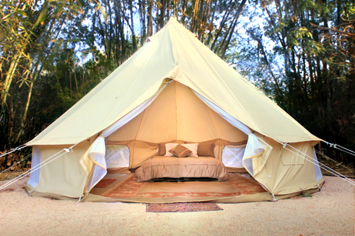 Luxury Camping Tent At La Ribera Mexico