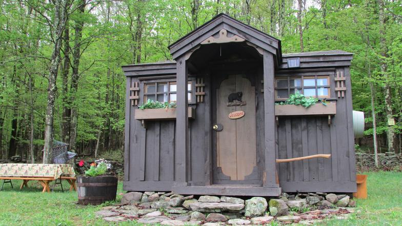 capecod cabins cabin york upstate in log deluxe catskill mountain at modular mountaineer hunging new hunting