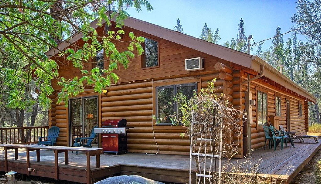 cabin ha rent for with near yosemite lake slip boat cabins mountain bass property