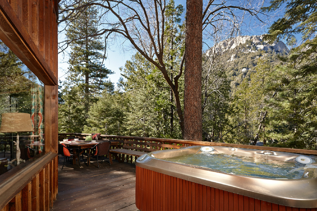 Luxury cabin in southern california for Cabin rentals in southern california