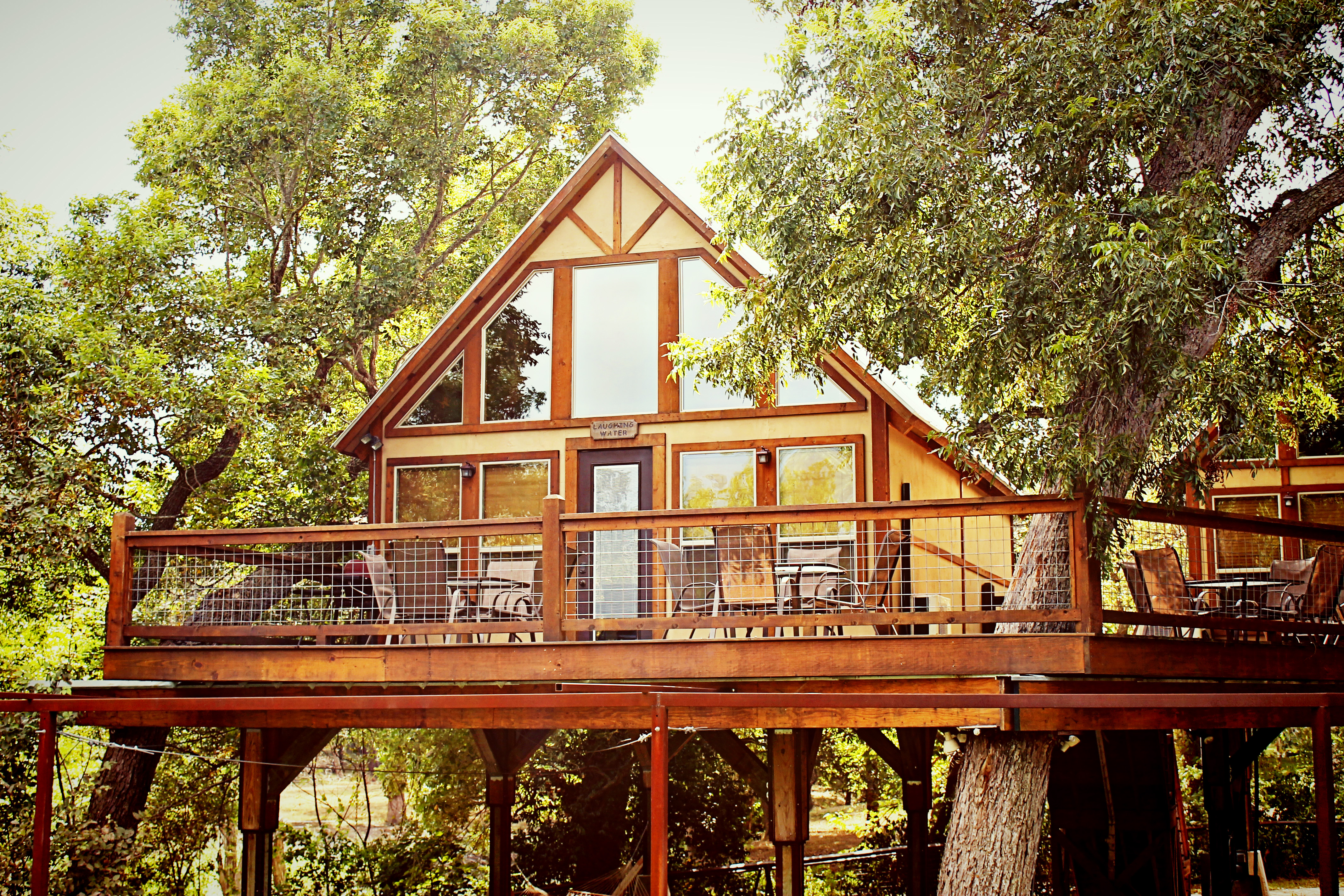 of fresh cabins new canyon co hideout upper braunfels summer trip horseshoe on rentals float lake cabin lodging the texas